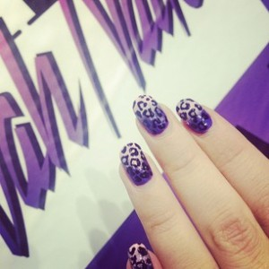 Crazy cool nail art: @wahnails